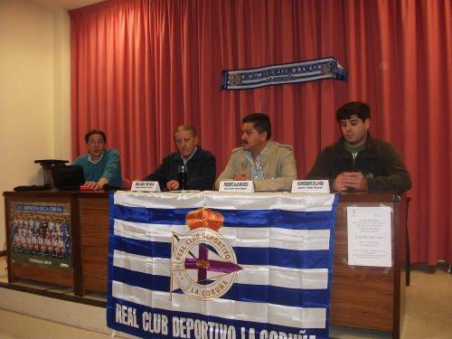 Pepe junto a Luciano, Chus y Rafa
