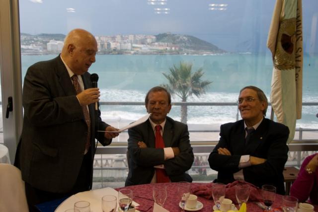 Fernando con González Garcés y Pacheco