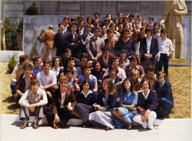 Promoción de COU mixto 1977