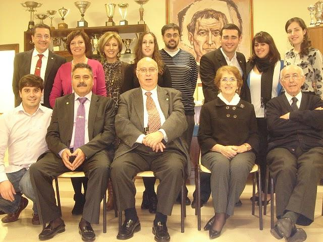 Foto de familia con Fernando Esclusa