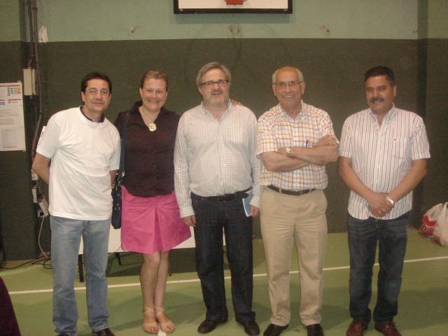 Rafa, Ángeles, Roberto, Joaquín y Luciano