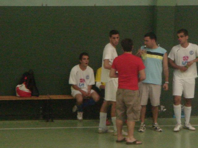 Ángel, Chus y Diego, preparando la entrega de premios